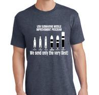 Polaris, Poseidon, Trident--T Shirt that shows them all.