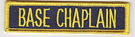 Base Chaplain patch