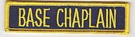 Base Chaplain patch