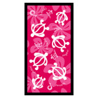 Pink Honu Beach Towel