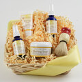 Men's Shaving Kit Basket