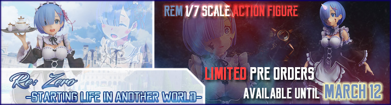 Re: Zero Rem Action Figure from Good Smile