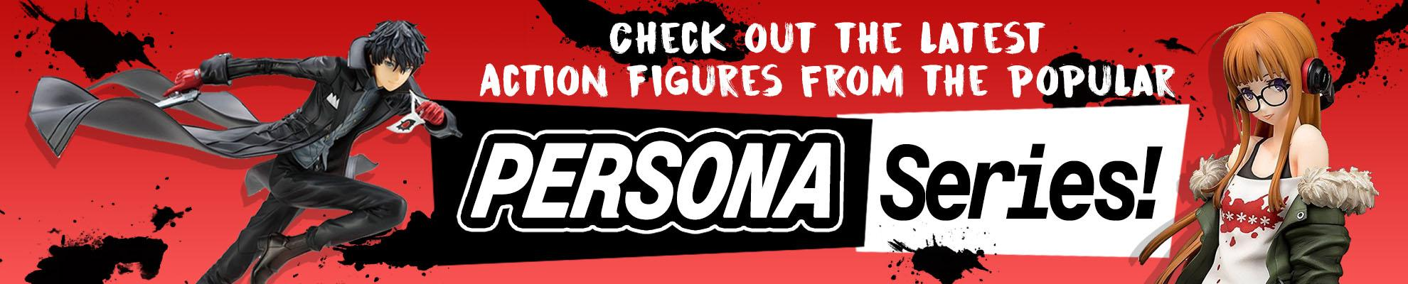 Plaza Japan Persona 5 Action Figures
