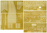 "Fujimi 1/350 Gup40 Grade-Up Parts 1/350 IJN ""Kaga"" Photo Etched Parts SP2"