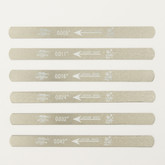 UO-CHIKYU 2505 Nut Files Hiroshima File 6 pcs Set for Electric guitar 009 gauge