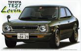 Fujimi ID-53 Toyota Corolla Levin TE27 1/24 Scale Kit