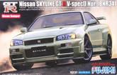 Fujimi ID-71 Nissan Skyline GT-R BNR34 Nur. 1/24 Scale Kit