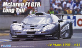 Fujimi RS-57 McLaren F1 GTR Long Tail Le Mans 1998 #41 1/24 scale kit