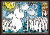 Yanoman Prism Art Jigsaw Puzzle 61-35 Moomin Hattifatteners Panic (108 Pcs) NZA