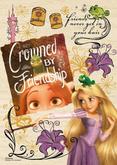 Yanoman Wooden Jigsaw Puzzle 33-26 Disney Tangled Rapunzel (300 Small Pieces)
