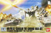 Bandai 599452 GUNDAM RX-79(G) THE GROUND WAR SET &quot;ONE YEAR WAR&quot; 1/144 Scale Kit