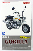 Aoshima Naked Bike 23 Honda GORILLA Custom Takegawa Ver.1 1/12 scale kit