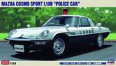 "Hasegawa 20258 Mazda Cosmo Sport L108 ""Police Car"" 1/24 Scale kit"