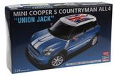 "Hasegawa 20253 Mini Cooper S Countryman ALL 4 ""Unon Jack"" 1/24 scale kit"