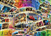 Tenyo Japan Jigsaw Puzzle D-2000-619 Disney Animation History (2000 Pieces)