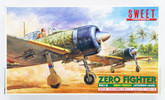 Sweet Aviation 12 Zero Fighter 21 Type (Green Ver.) Mitsubishi A6M2B 1/144
