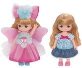 Takara Tomy Licca Doll LW-21 Mikichan Makichan Fairy Dress & Bunny Dres Set (869191) <DOLL NOT INCLUDED>