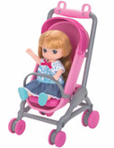 Takara Tomy Licca Doll  LF-11 Baby Stroller (874263) <DOLL NOT INCLUDED>