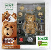 "Kaiyodo Movie Revo (Revoltech) Series No.006 TED from ""TED 2"" Action Figure"