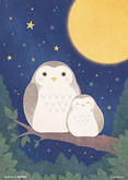Beverly Jigsaw Puzzle 108-803 Japanese Art Owl (108 Pieces)