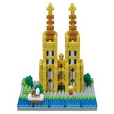 Kawada NBH-140 nanoblock The Cologne Cathedral