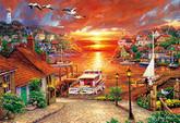 APPLEONE Jigsaw Puzzle 300-325 Chuck Pinson New Horizon (300 Pieces)