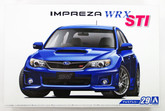 Aoshima 52358 The Model Car 29 Subaru GRB Impreza WRX STI '10 1/24 scale kit