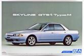 Aoshima 53072 The Model Car 32 Nissan HCR32 Skyline GTS-T Type M '89 1/24 scale kit