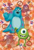 Yanoman Prism Art Jigsaw Petit Puzzle 97-146 Disney Monsters Inc. (70 Pieces)
