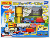 Takara Tomy Pla-Rail Plarail Steam chuff-chuff! Thomas Set 876854