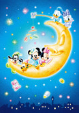 Tenyo Japan Jigsaw Puzzle D-108-803 Disney Mickey & Minnie Mouse (108 Pieces)