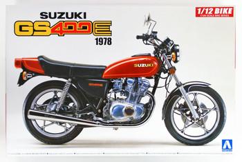 Aoshima 53119 Bike 28 Suzuki GS400E 1/12 scale kit