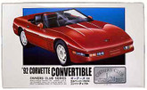 Arii Owners Club 1/24 22 1992 Corvette Convertible 1/24 Scale Kit (Microace)