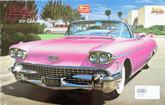 Arii 912416 Cadillac 1958 Eldorado Convertible Pink 1/24 Scale Kit (Microace)