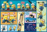 Yanoman Jigsaw Puzzle 03-853 Minions Comic Art (300 Pieces)