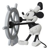 Medicom UDF-350 Ultra Detail Figure Mickey Mouse (Disney Steamboat Willie)