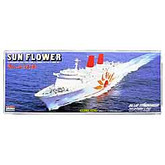 Arii 131015 Sun Flower Ferry Eleven (Sunflower) 1/700 scale kit (Microace)