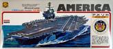 Arii-11 618110 USS Aircraft Carrier America CVA/CV-66 1/800 scale kit (Microace)