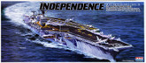 Arii-20 618202 USS Aircraft Carrier Independence 1/800 scale kit (Microace)
