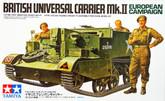 Tamiya 35175 British Universal Carrier Mk.II European Campaign 1/35 Scale Kit
