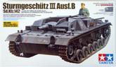 Tamiya 35281 German Sturmgeschutz III Ausf.B 1/35 Scale Kit