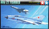 Tamiya 61602 Combat Plane Series No.2 MIG-21 Fishbed 1/100 Scale Kit