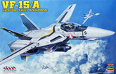 "Hasegawa Macross 657922 VF-1S/A VALKYRIE SKULL SQUADRON"" 1/48 Scale Kit"""