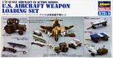 Hasegawa X72-5 U.S. AIRCRAFT WEAPON LOADING SET 1/72 Scale Kit