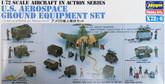 Hasegawa X72-6 U.S. AEROSPACE GROUND EQUIPMENT 1/72 Scale Kit