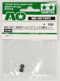 Tamiya AO-1011 Mini 4WD 620 Ball Bearing Set 2 pcs (94389)