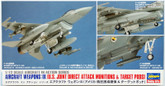 Hasegawa X72-14 AIRCRAFT WEAPONS IX U.S. Joint Direct Attack Munitions & Target Pods 1/72 Scale Kit