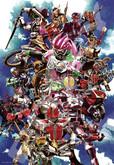 Ensky Jigsaw Puzzle 1000T-38 Kamen Masked Rider Series Heisei  Yoshihito Sugahara (1000 Pieces)