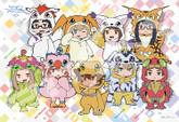 Ensky Jigsaw Puzzle 300-1175 Digital Monsters Digimon Adventure (300 Pieces)