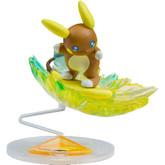 Takara Tomy Pokemon Monster Collection EX EZW-02 Alola Raichu Lightening Surf Ride